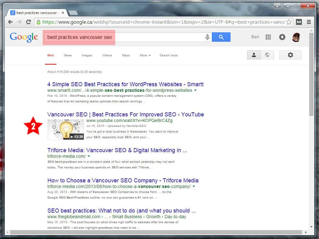 Best Practices Vancouver SEO